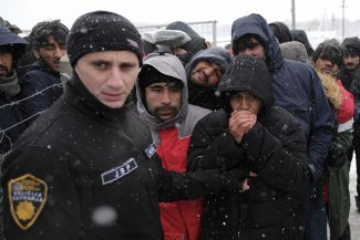 Along the Balkan route, refugees and volunteers face growing hostility