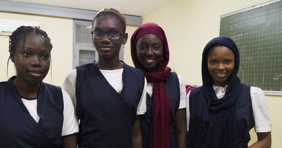 Image result for senegalese females win Made in Africa category at the Pan-African Robotic Competition